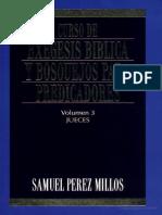 Curso de Exégesis Biblica y Bosquejos para Predicadores -JUECES- Samuel Perez Millos.pdf