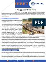 Fact Sheet - Prioritas Penggunaan Dana Desa