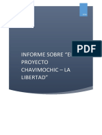 Informe Sobre El Proyecto Chavimochic