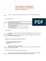 Nota Ringkas Sejarah Tingkatan 5 SPM Bab 5