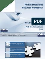 ARH I - 2017 2 - Secao 02 - Administração FGV