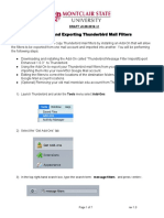 Importing and Exporting Thunderbird Mail Filters