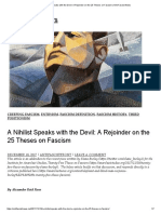 A Nihilist Speaks With the Devil_ a Rejoinder on the 25 Theses on Fascism _ Anti-Fascist News