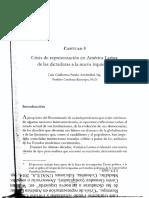 Crisis de Representación en AL, Patiño y Cardona