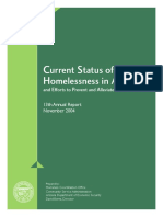2004 Homelessness Report
