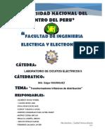 Informe Medicion Trafo 3f