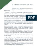 Janin B., La crisis actual en la Argentina y sus efectos en los niños