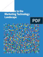 The Guide to the Marketing Technology Landscape