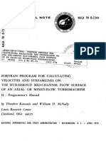 FORTRAN Program for Calculating Velocities and Streamlines on the Hub-Shroud Mid-Channel Flow Surface of an Axial- or Mixed-Flow Turbomachine II.pdf