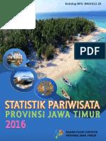 Statistik Pariwisata Provinsi Jawa Timur 2016