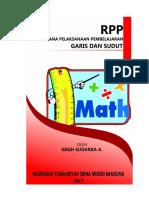 RPP  Garis dan Sudut (Definisi)