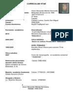Curriculum Viatae Walter