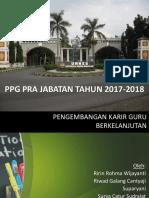 PPT Pengembangan Karir Guru