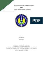 laporan praktek instalasi listrik komersial