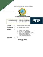 Informe n 2 de Viscosimetro de Brookfield