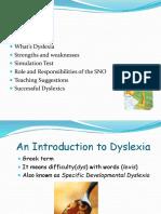 Intro to Dyslexia