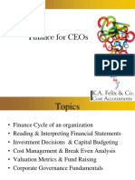 Finance for Ceos Ppt1