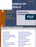 Mechanics of Material 1 Introduction