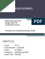 CRS Ulkus Kornea.pptx