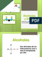 Alcoholes y Éteres