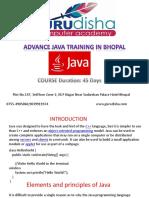 Java Training in Bhopal