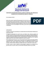 ASOAF - Propuesta de Restauración de La Estación de Soria