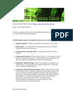 Placa de Circuito Impresso Proteus ARES