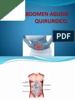 Abdomen Agudo Quirurgico