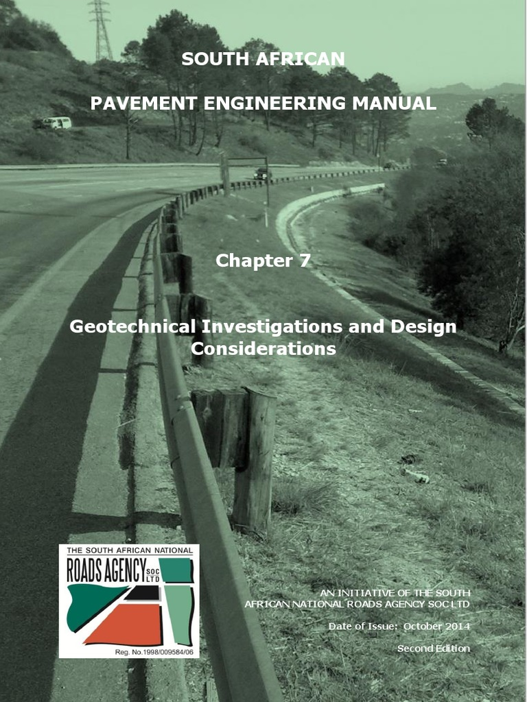 pavement design manual - south african.pdf | Geotechnical Engineering | Road