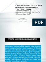 Analisis Laporan Keuangan Kinerja, Dan Kepatuhan Atas
