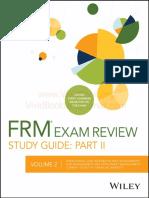 2017 FRM Part II Practice Exam