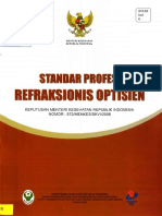 Standar Profesi Refraksionis Optisen