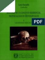 Anatomía de Un Conjunto Residencial Teotihuacano