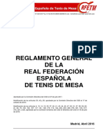 Reglamento General (Aprobado CSD 18-07-2016)