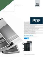 Bizhub 364e Spec Sheet CEN
