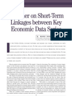 Primer on Short-Term Linkages Between Key Economic Data Series