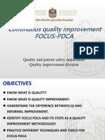 Focus PDCA