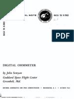 Digital Ohmmeter