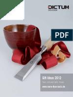 Dictum Giftideas 2012