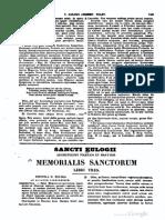 0799-0859, Eulogius Toletanus Episcopus, Memorialis Sanctorum Libri Tres, MLT
