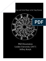 PhD Dissertation (Leiden University) 'Buddhist Astrology and Astral Magic in the Tang Dynasty' Jeffrey Kotyk