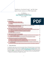 Applied Biophysics of Activated Water and the Basic Mechanism of Water Memory in Tgd Framework