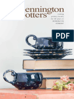 Bennington Potters 2016 Catalog