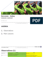 Sercomm Askey Lessons Learnt