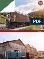LGB Trains Catalog 2016