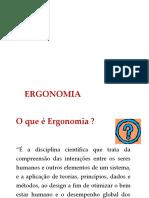 Palestra Ergonomia