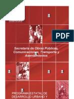 Programa Estatal de Desarrollo Urbano y to Territorial