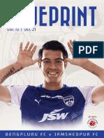 BLUEPRINT Vol IV - Bengaluru FC vs Jamshedpur FC
