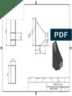 planos inventor Perfil Rectangular