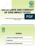 Importance and Conduct of Grid Impact Study